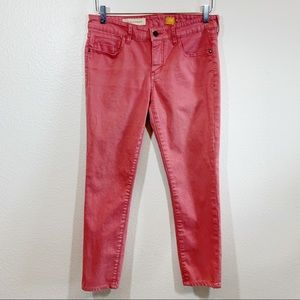 Pilcro and the Letterpress Stet fit slim jeans